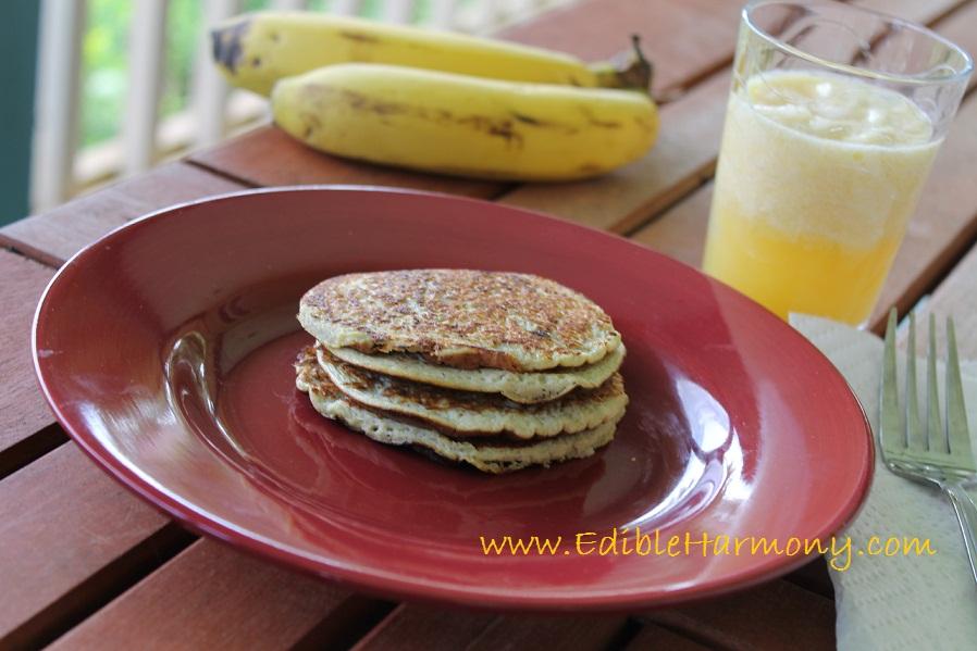 2 ingredient flour-less pancakes