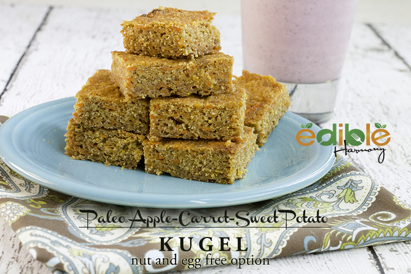 Paleo Apple Carrot and Sweet Potato Kugel