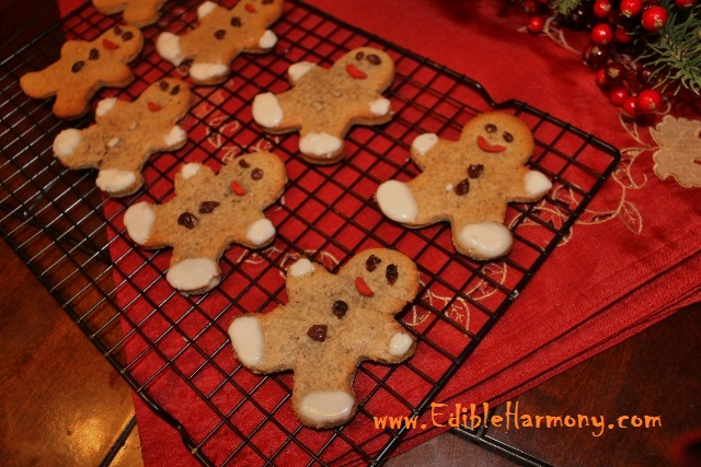 Paleo Gingerbread Cookies (cut-out)