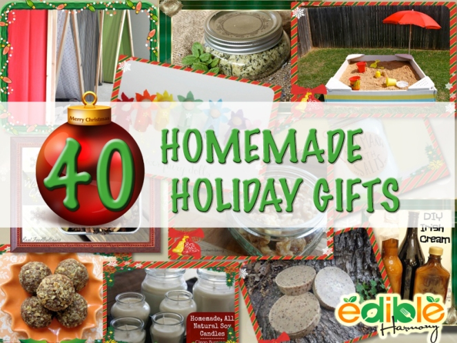 40 DIY Holiday Gifts