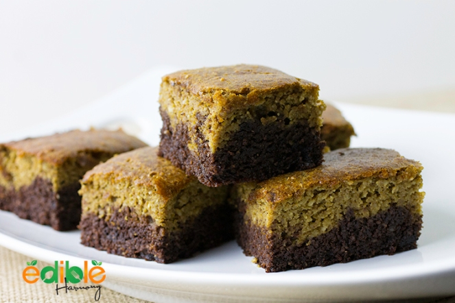 Paleo Pumpkin Brownie