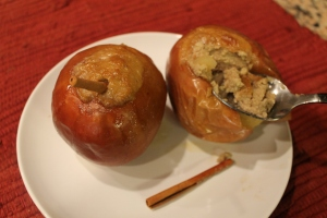 Gluten-Free Custard Filled Baked Apples Recipes
