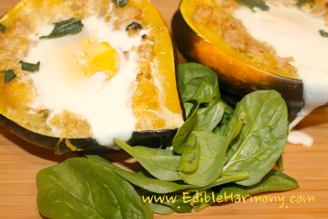 Paleo Breakfast Stuffed Squash