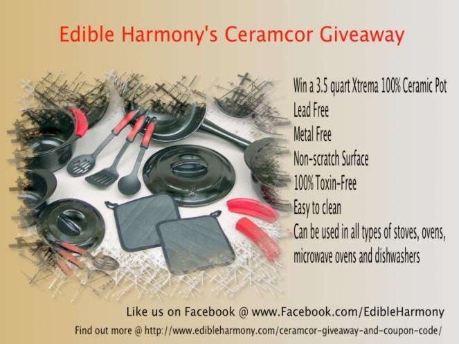 Ceramcor's Giveaway