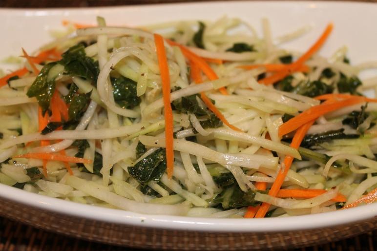 Kohlrabi Greens Recipe (Kohlrabi Slaw)