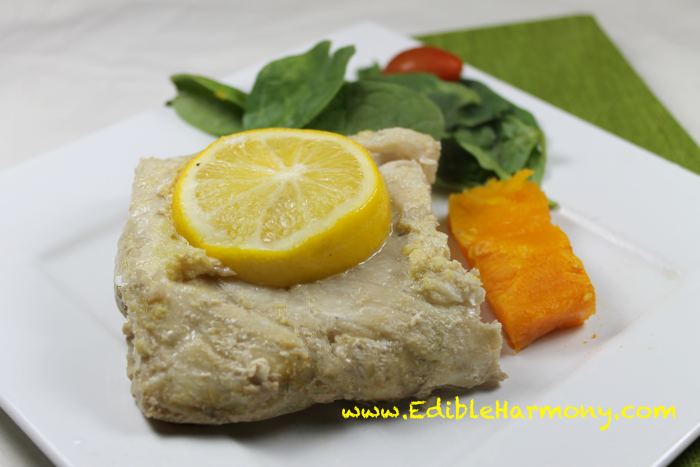 Asian Ginger Lemon Fish
