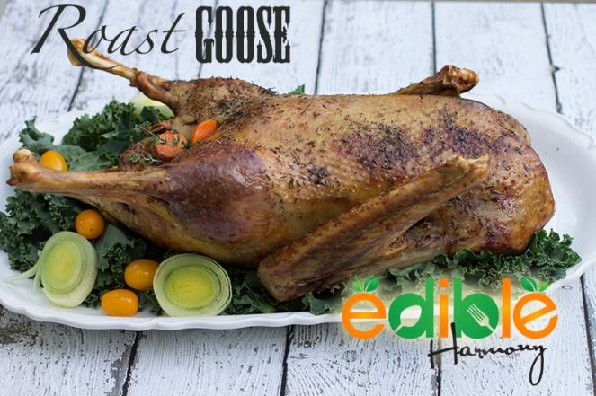 Paleo Roasted Goose