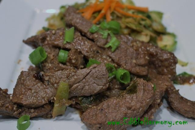 Paleo Sesame Beef