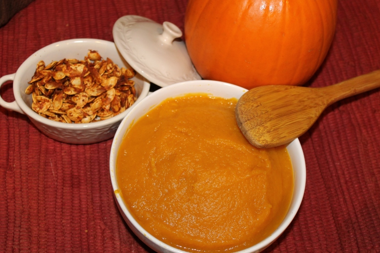 How to make canned pumpkin puree
