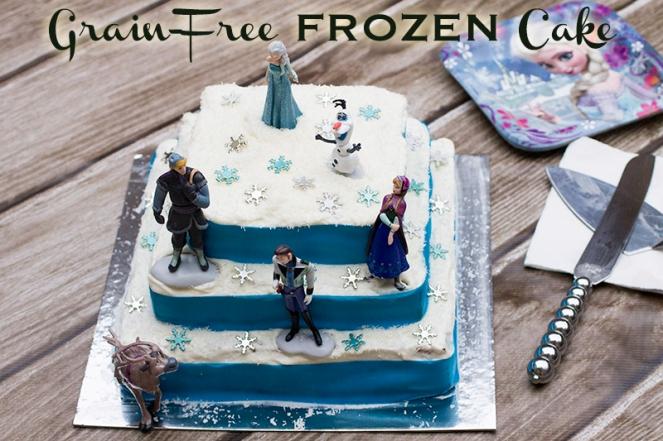 Paleo Frozen Cake