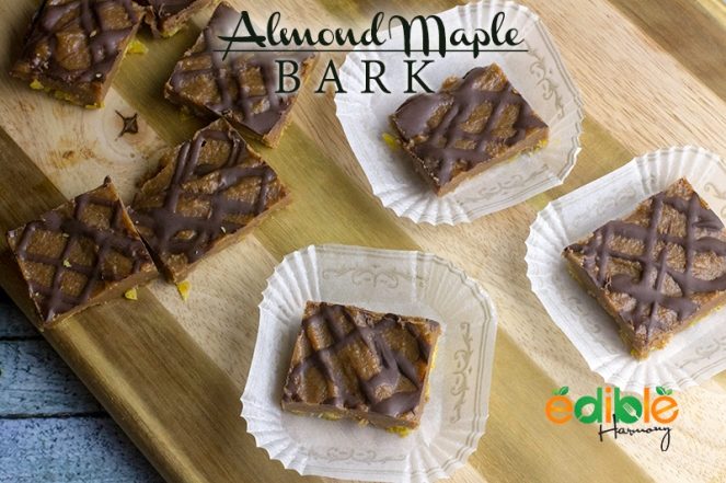 Spiced Maple Almond Bark