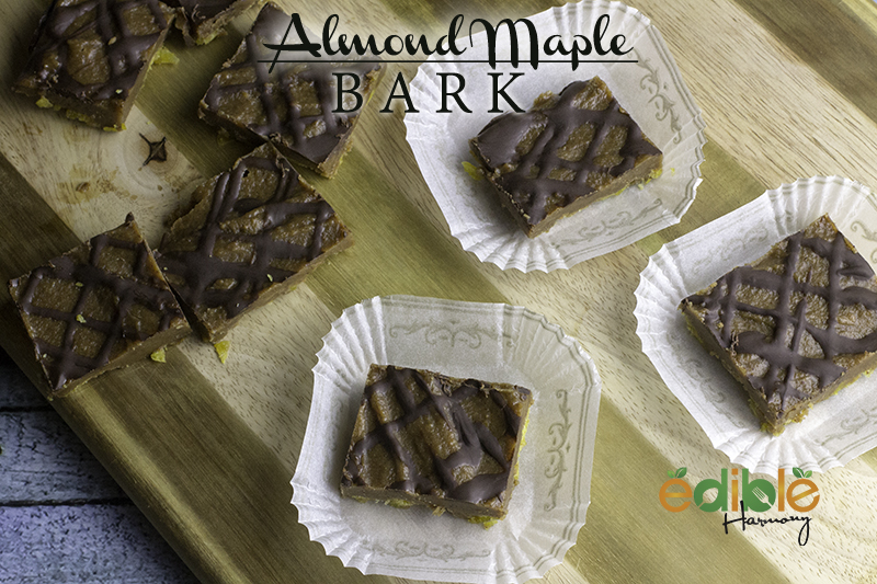 Spiced Almond Maple Bark